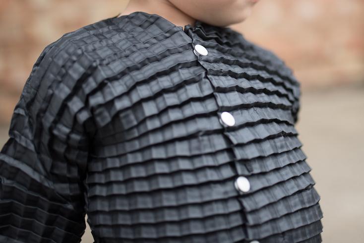 生後4ヶ月から3歳まで、成長に合わせてサイズが変わる子供服