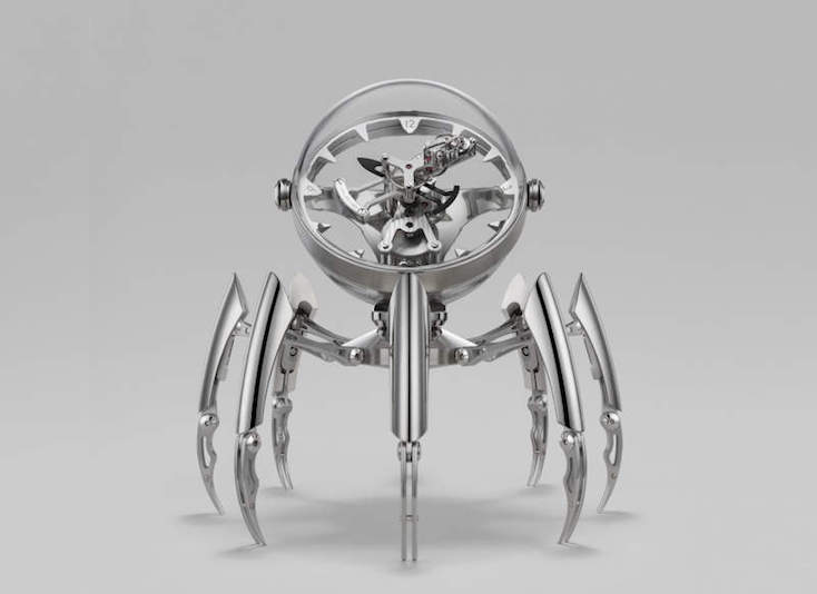 スイスの時計メーカーがコラボして誕生した、クールなタコ時計