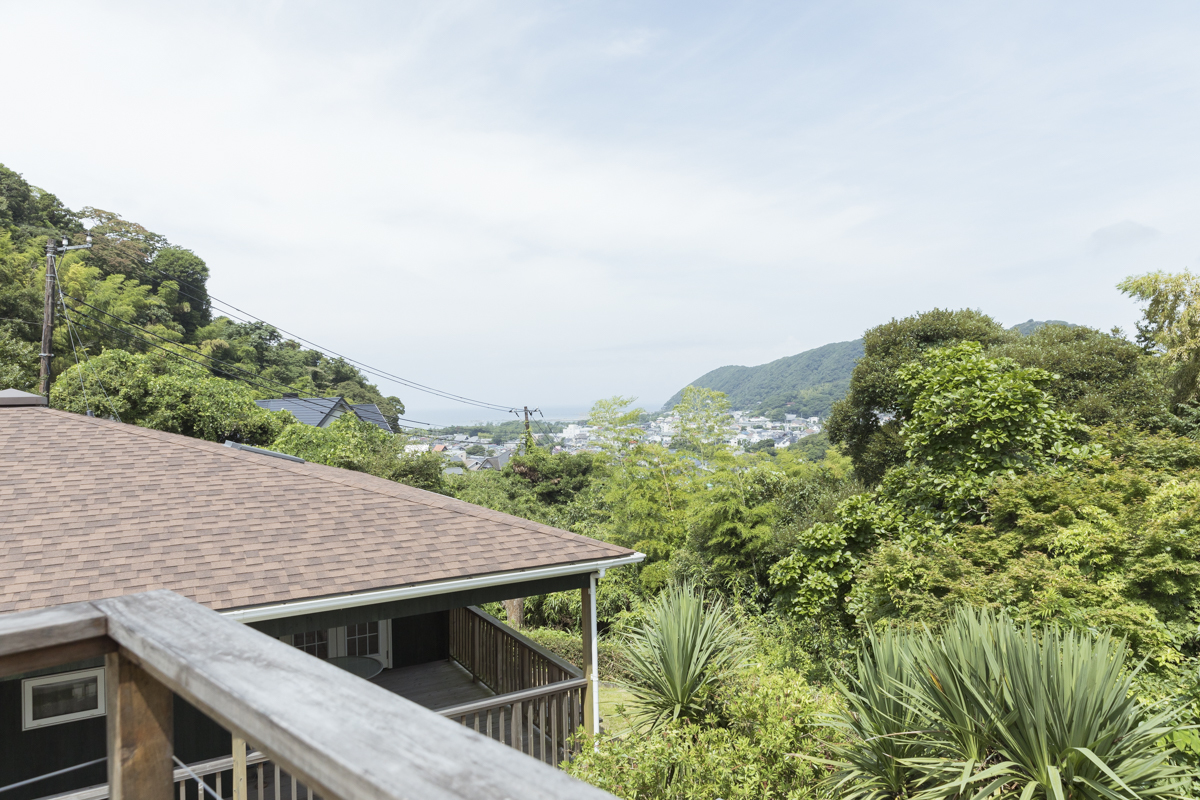 葉山の見晴らしのいい家