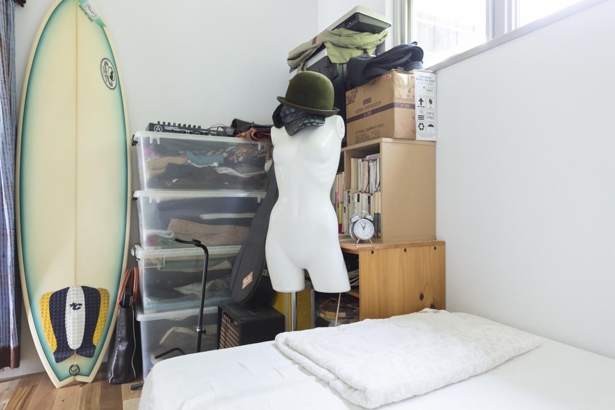 アートな寝室