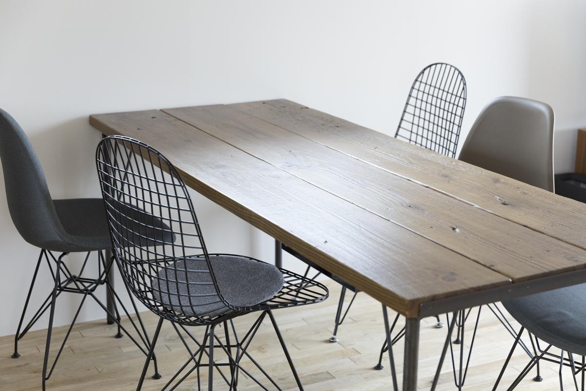 woodproで取り寄せたテーブルの板