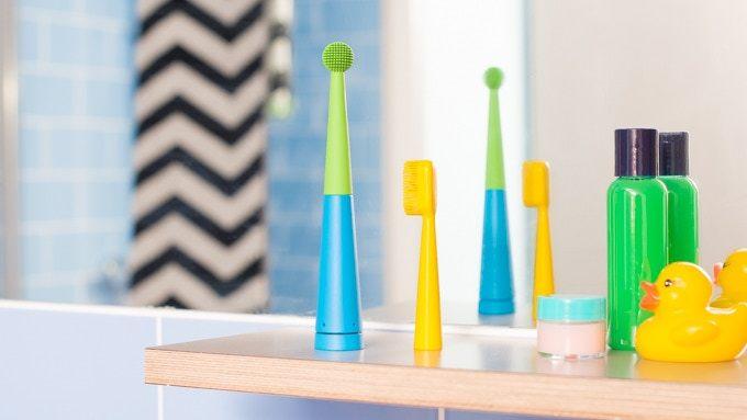 好きな音楽が流せる歯ブラシ