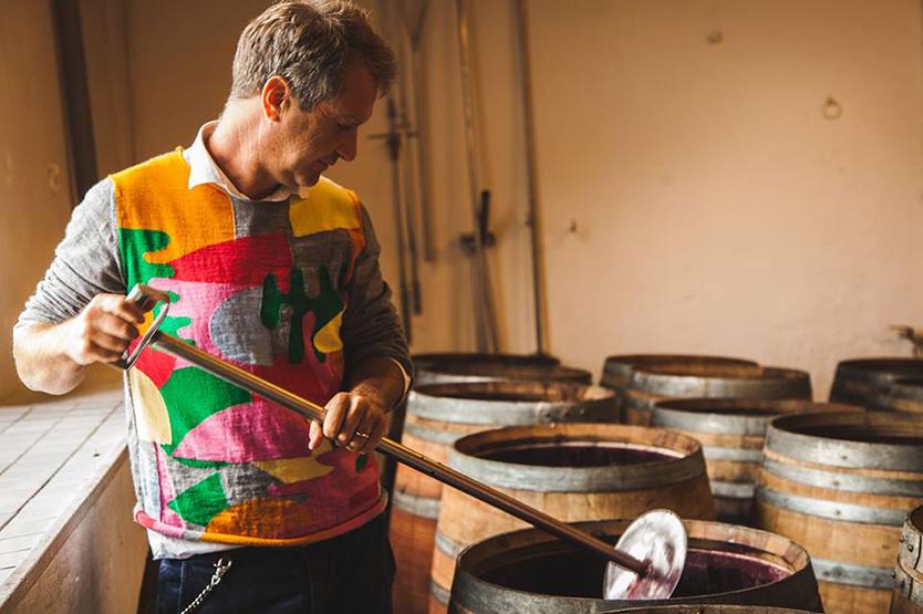 芸術家としてのバックグラウンドを持つイタリアのワイン醸造家・Bibi Graetz(ビービー グラーツ)氏