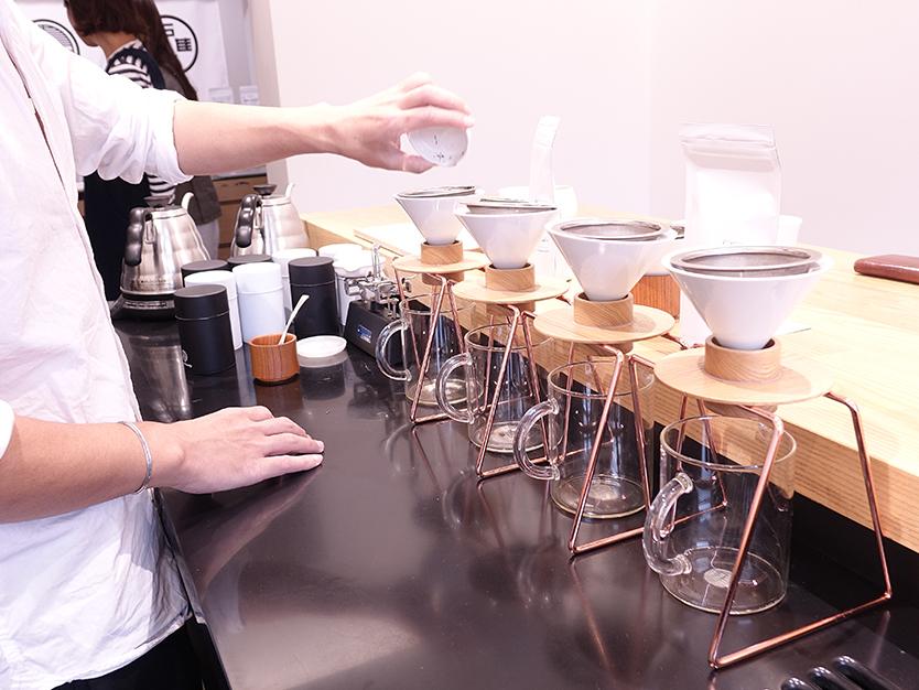日本茶を楽しむ、おしゃれなハンドドリップ日本茶「東京茶寮」