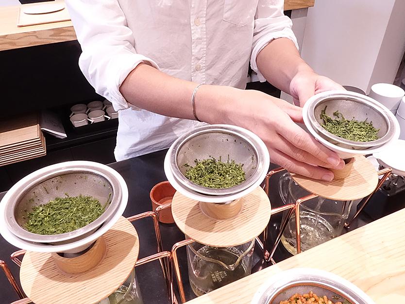おしゃれなハンドドリップ日本茶「東京茶寮」