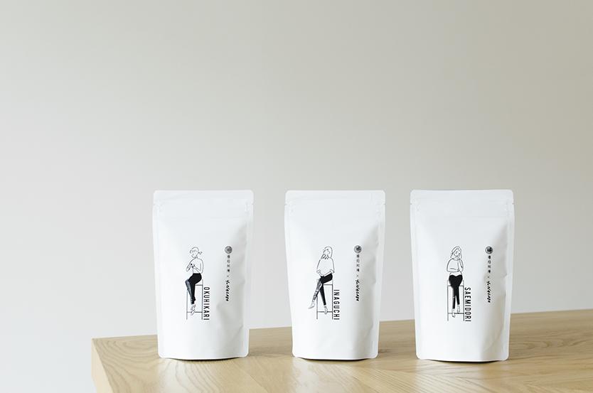 シングルオリジン煎茶の【長場雄×東京茶寮】コラボレーションの限定パッケージ