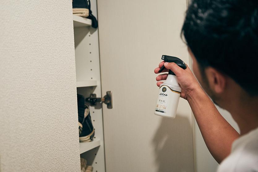 家に帰った時のペット臭、靴箱のにおいが減った