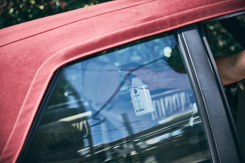 車の匂いに効く消臭剤