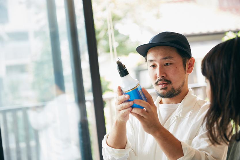 ノンスメル清水香を使う男性