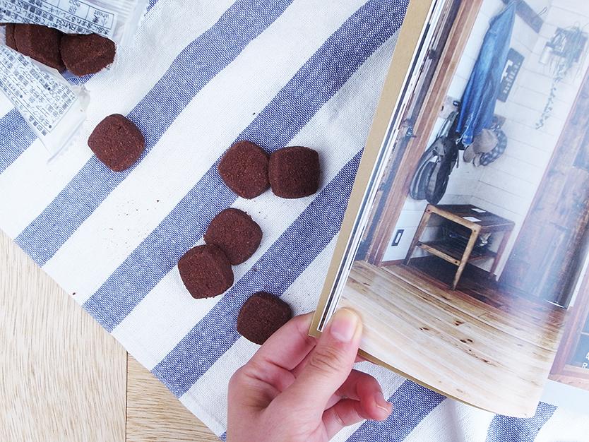 無印良品のショコラと岩塩のクッキー