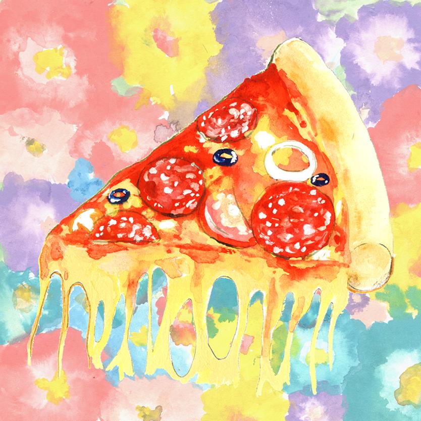 長嶋五郎のイラストレーション