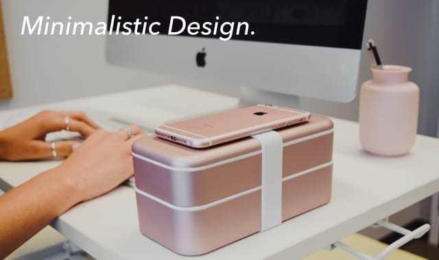 弁当箱をモチーフとして誕生した便利な収納アイテム