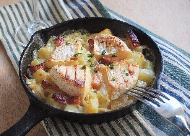 チーズがとろーり。白ワインに合う『タルティフレット』