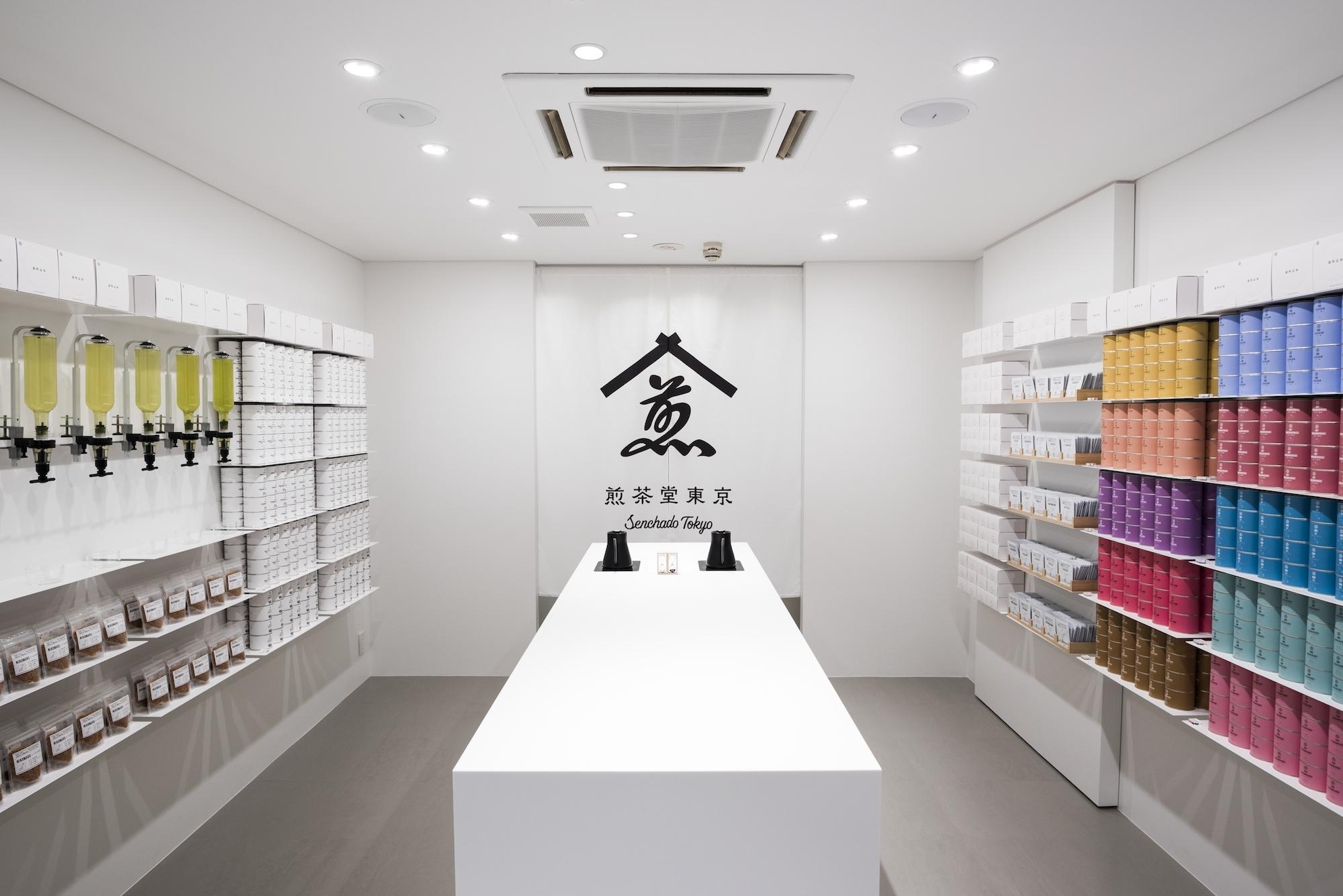 煎茶専門店の煎茶東京