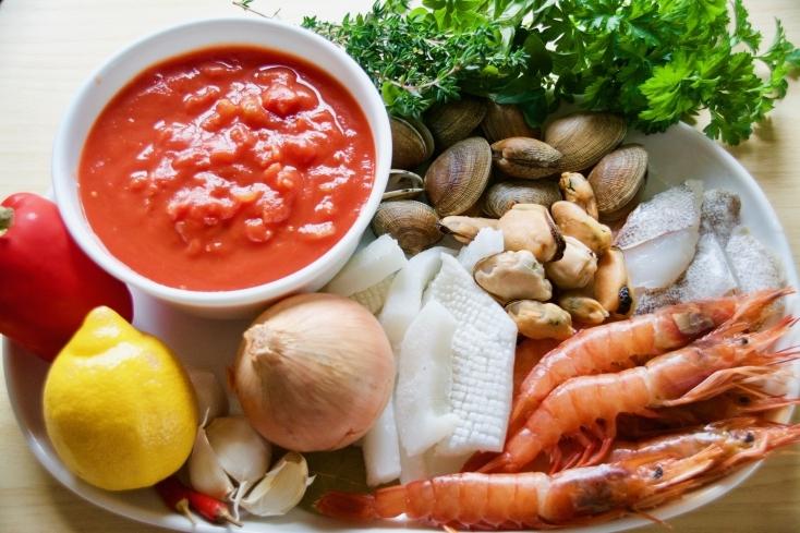 シメはリゾットを楽しもう。チョッピーノスープのレシピ