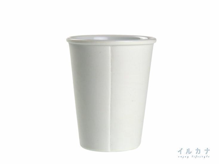 佐見焼の紙コップ風タンブラーペーパーカップタンブラー