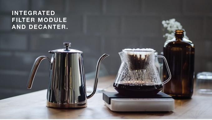 おいしいコーヒーの風味を探求するドリッパーOrigin Decanter