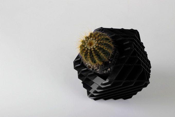 メキシコ発の、かわいいデザインプランター
