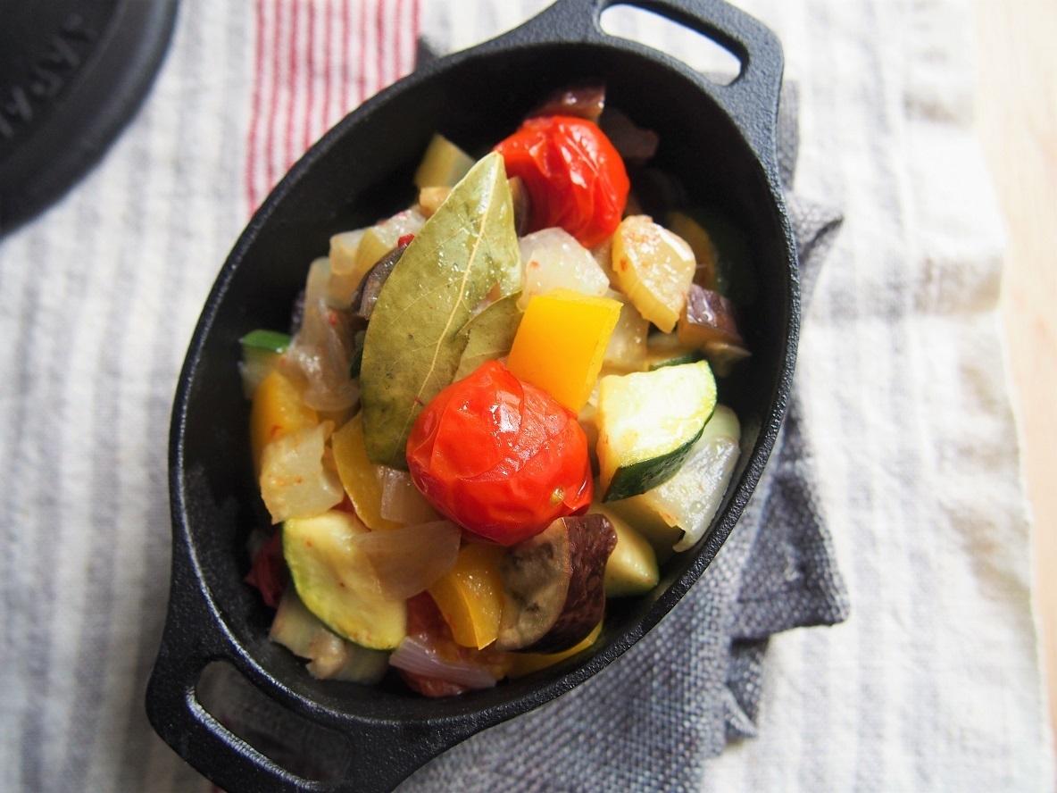 野菜がたっぷり食べられる『野菜のオイル煮』