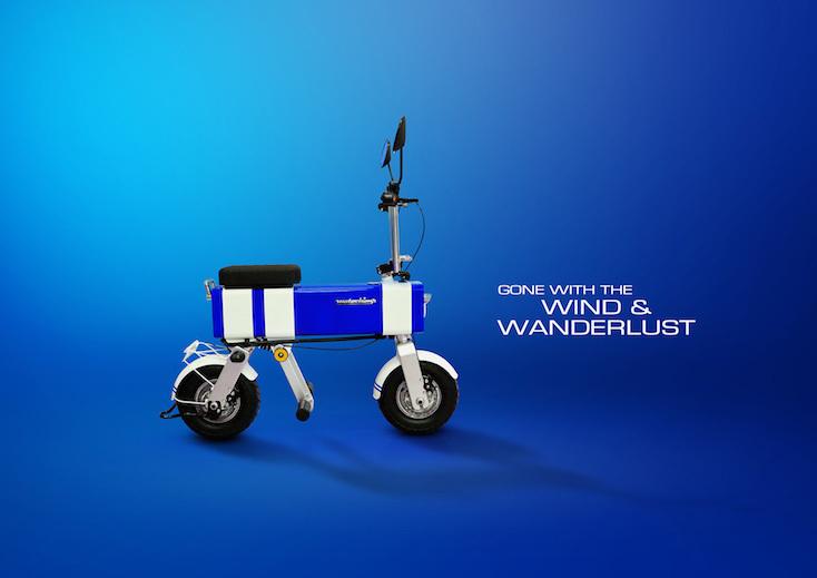 おしゃれでかわいい電動バイク「Motochimp」