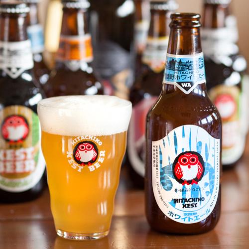 木内酒造の「常陸野ネストビール 4種8本セット」