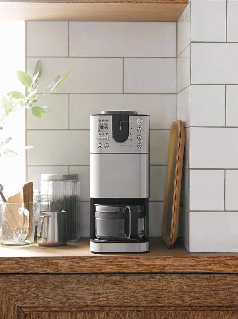 無印良品の「豆から挽けるコーヒーメーカー」で、朝をもっと楽しもう