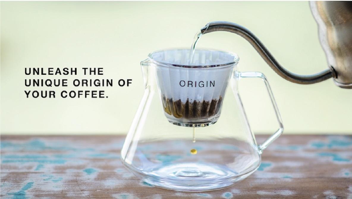 コーヒーのOrigin(根源)の味を楽しむために生まれたハンドドリップシステム