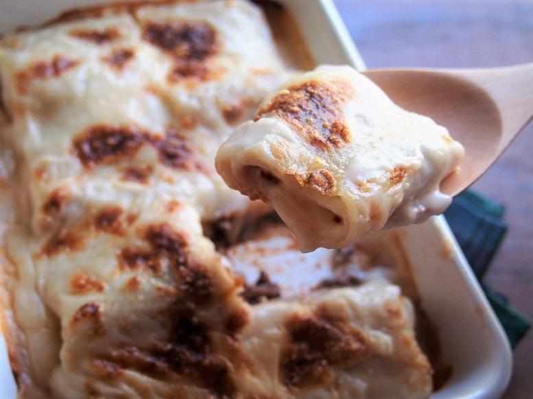 クリスマスディナーを華やかに。トースターで作る「ラザニアロール」のレシピ