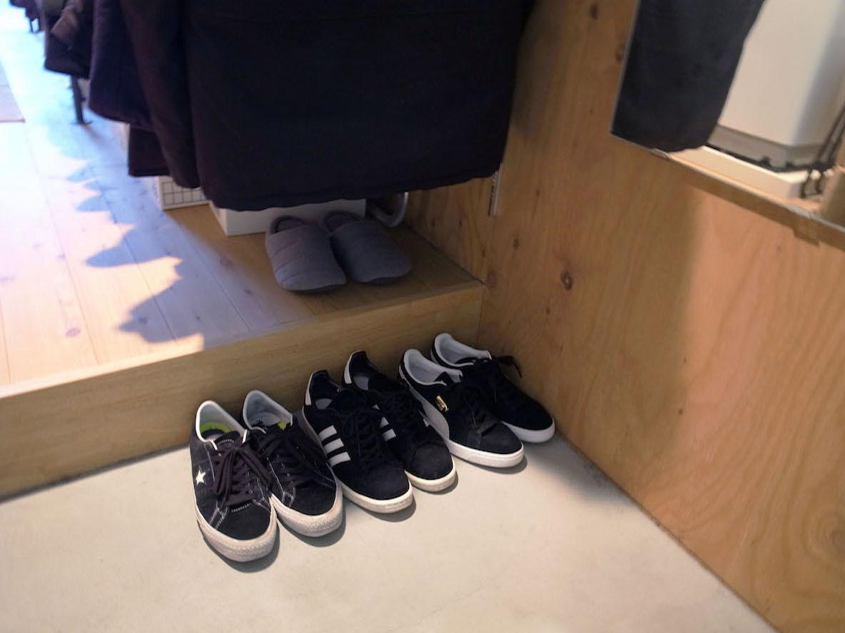 スケーターの靴