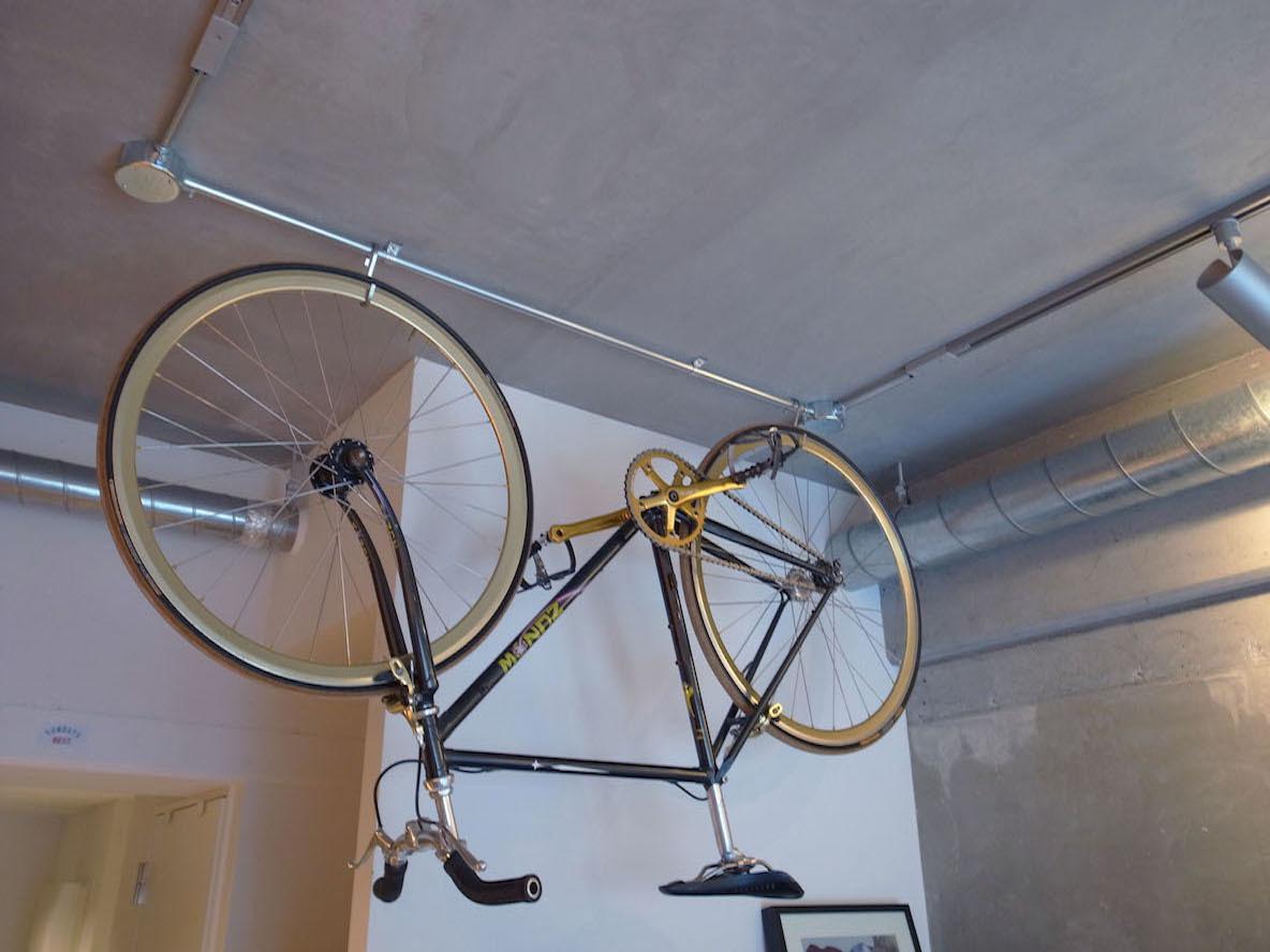ヴィンテージパーツのピストバイク