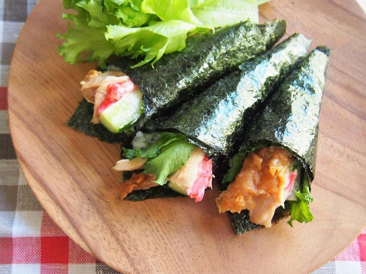 巻き 材料 手 寿司