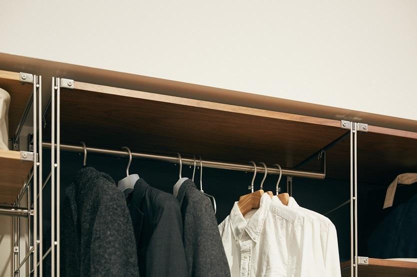 服の収納方法