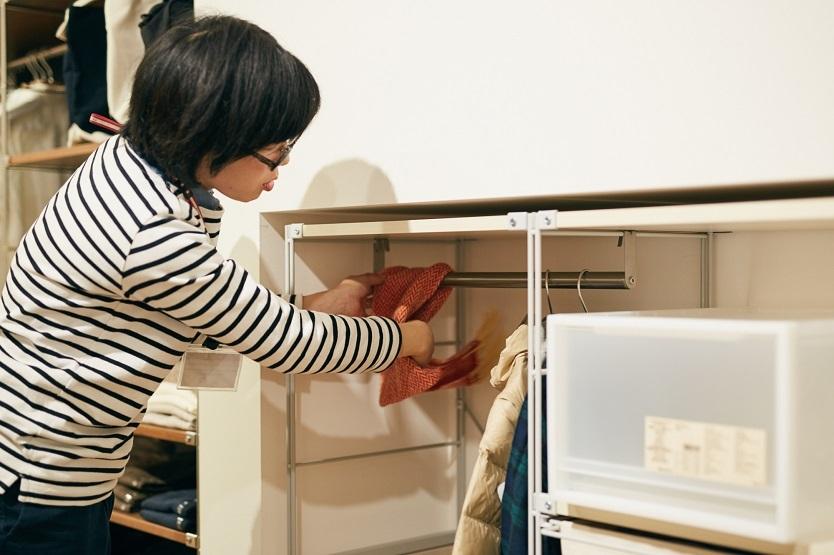 子ども服の収納は、成長に合わせて変更を
