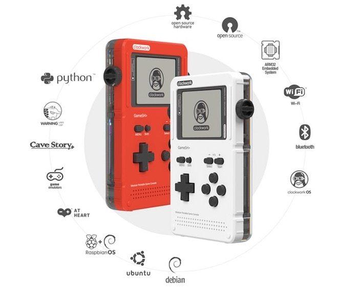 オープンソース型ゲーム機「GameShell」