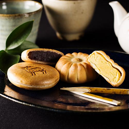 お土産にぴったりな、本家菊屋の「奈良老舗和菓子セット・まほろば」