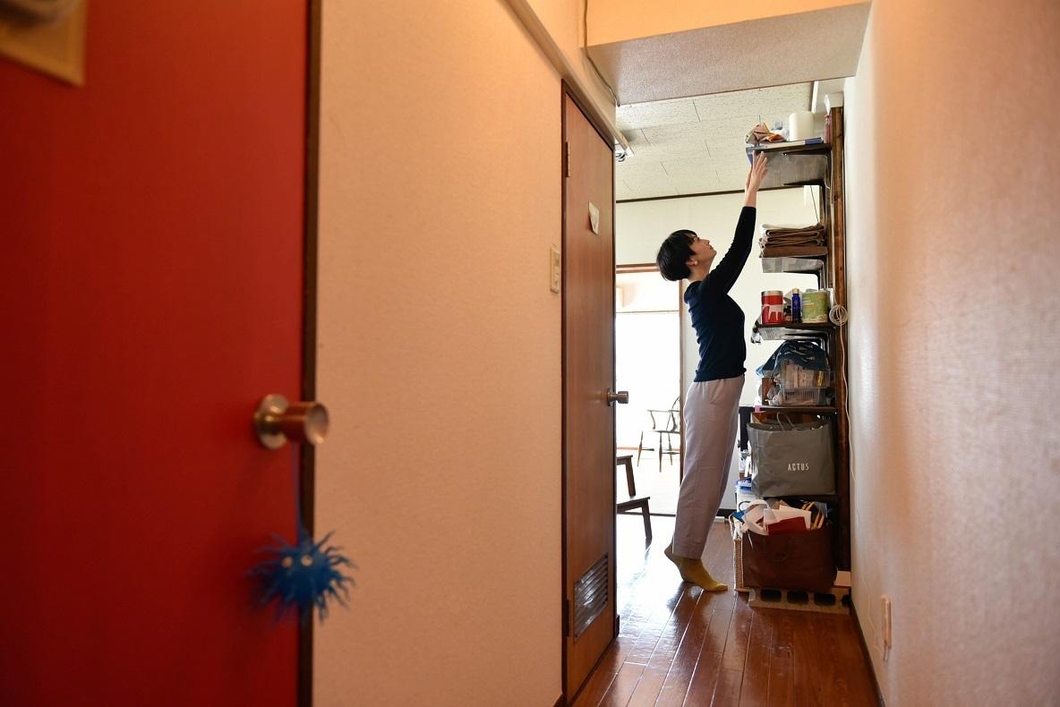 マスキングテープで彩られた和室で暮らす