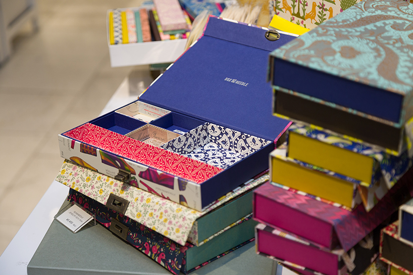 BOX&NEEDLEの「紙製ジュエリーボックス