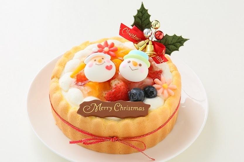 クリスマスファーストバースデーケーキ