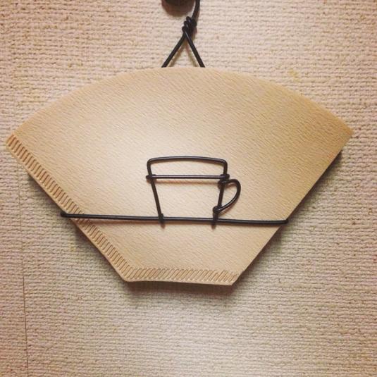 コーヒーフィルター入れ