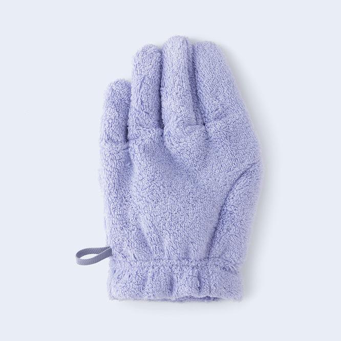 やさしくなめらかに髪の毛を乾かす、ヘアケア用手袋