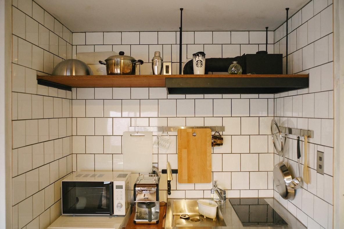 統一感と機能性を併せ持ったキッチン