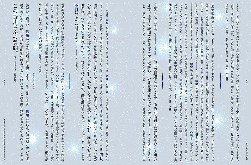 星空の谷川俊太郎質問箱