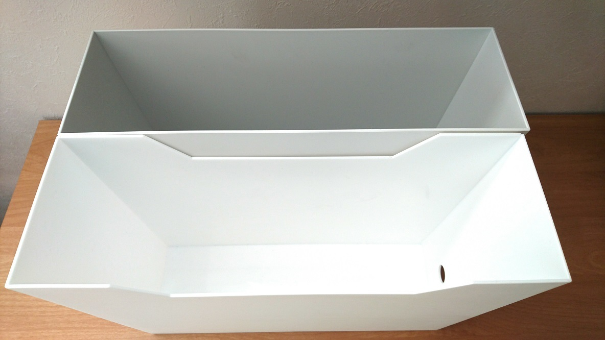 無印良品とニトリのファイルボックスが便利