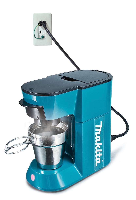 makitaから、充電式コーヒーメーカーが発売