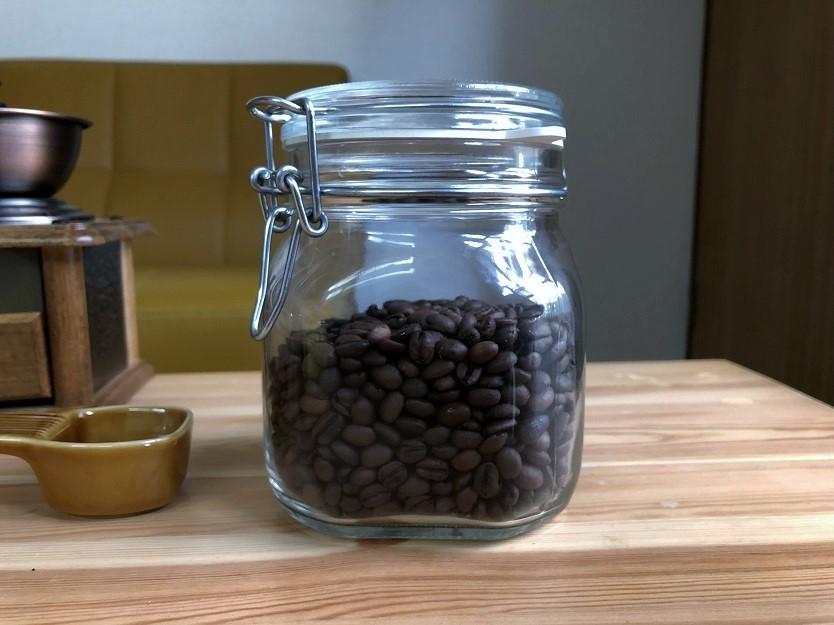コーヒー豆にぴったりです