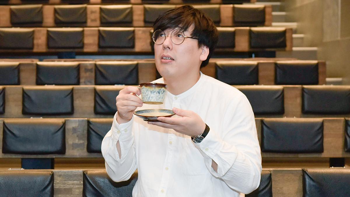 コーヒールンバ平岡佐智男さん