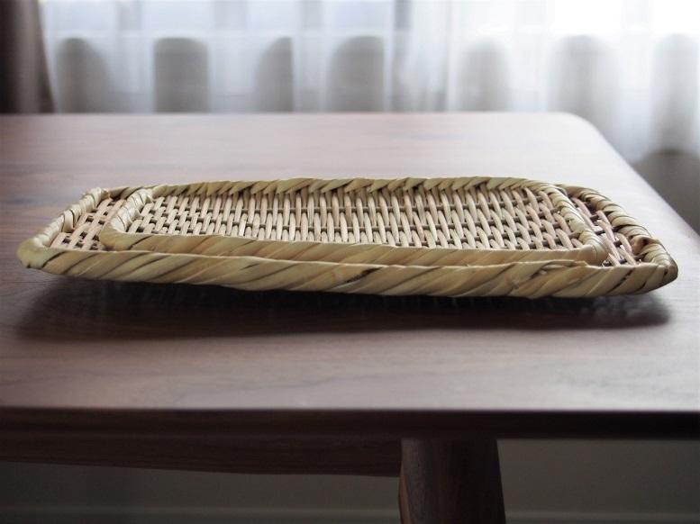 松野屋の真竹角盆ざる