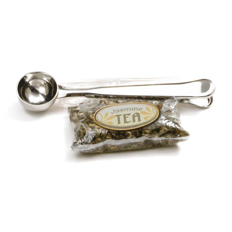 紅茶や緑茶、ハーブティー用のクリップとしても使えます