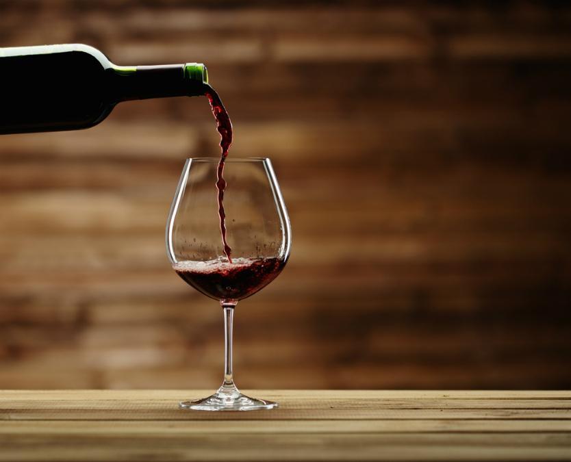 餃子×赤ワイン