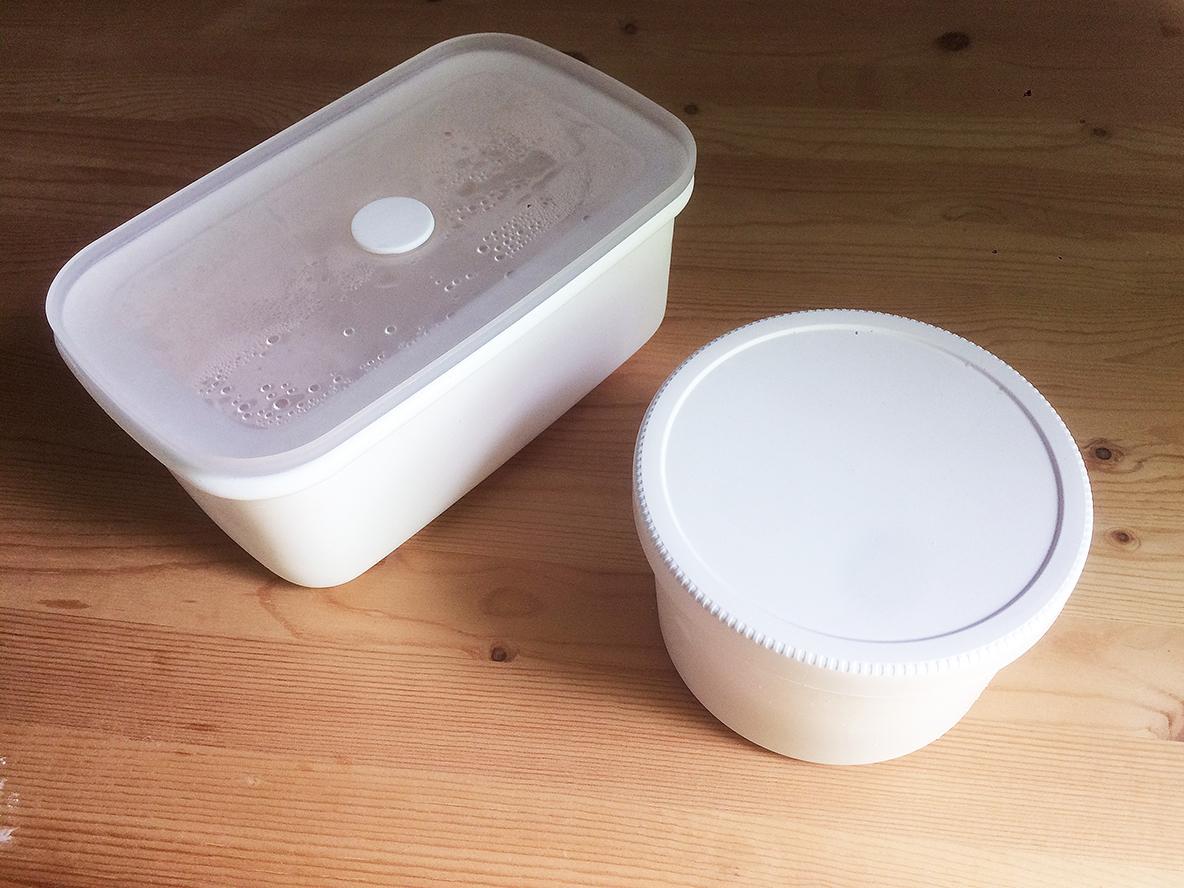 無印良品の保存容器